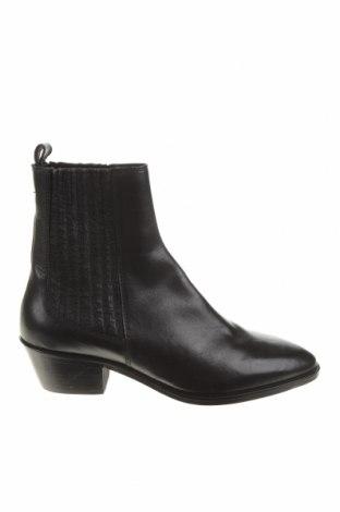 Dámské boty  Zara, Velikost 36, Barva Černá, Pravá kůže, Cena  1294,00Kč