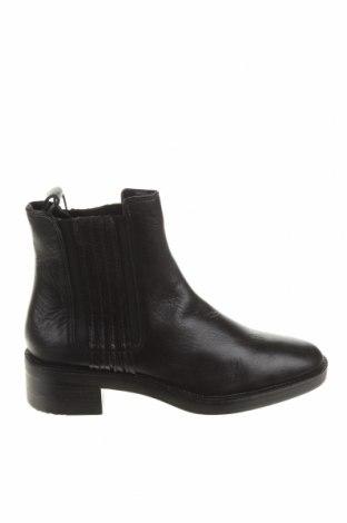 Dámské boty  Zara, Velikost 37, Barva Černá, Pravá kůže, Cena  1619,00Kč