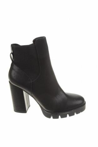 Dámské boty  Zara, Velikost 38, Barva Černá, Eko kůže, textile , Cena  542,00Kč
