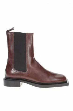 Dámské boty  Zara, Velikost 40, Barva Hnědá, Pravá kůže, Cena  748,00Kč