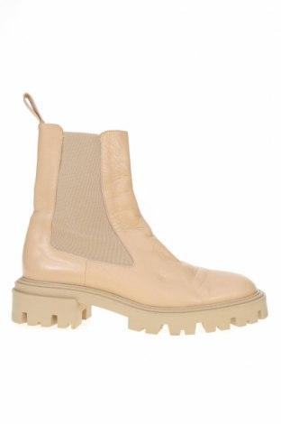 Dámské boty  Zara, Velikost 40, Barva Béžová, Pravá kůže, Cena  790,00Kč