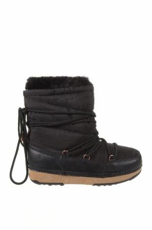Dámské boty  Oysho, Velikost 36, Barva Černá, Eko kůže, textile , Cena  581,00Kč