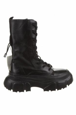 Dámské boty  Zara, Velikost 36, Barva Černá, Pravá kůže, Cena  1529,00Kč