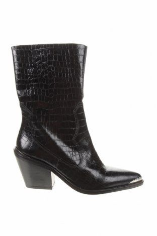 Dámské boty  Zara, Velikost 41, Barva Černá, Pravá kůže, Cena  986,00Kč