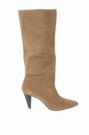 Dámské boty  Zara, Velikost 37, Barva Béžová, Přírodní velur , Cena  1452,00Kč