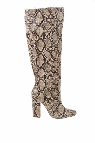 Дамски ботуши Zara, Размер 40, Цвят Многоцветен, Еко кожа, Цена 104,25лв.