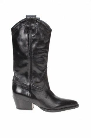 Dámské boty  Zara, Velikost 36, Barva Černá, Pravá kůže, Cena  1761,00Kč