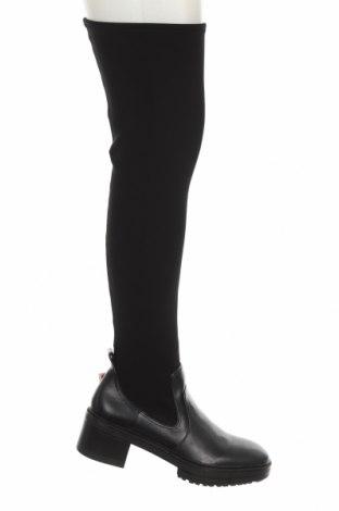 Dámské boty  Zara, Velikost 40, Barva Černá, Eko kůže, textile , Cena  776,00Kč