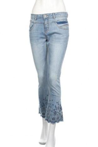 Дамски дънки Cream, Размер M, Цвят Син, 98% памук, 2% еластан, Цена 96,75лв.