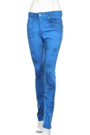 Дамски дънки Denim Hunter, Размер M, Цвят Син, 78% памук, 15% лиосел, 5% полиестер, 2% еластан, Цена 19,64лв.