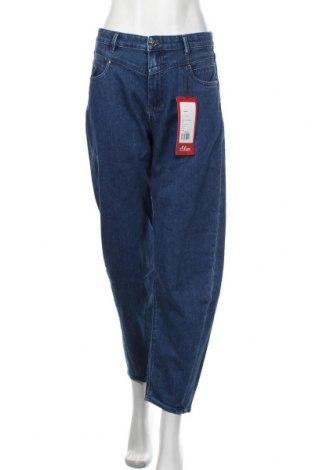 Dámské džíny  S.Oliver, Velikost M, Barva Modrá, 76% bavlna, 23% polyester, 1% elastan, Cena  968,00Kč