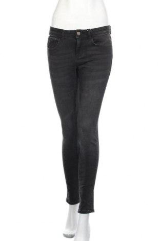 Дамски дънки Zara, Размер M, Цвят Сив, 98% памук, 2% еластан, Цена 44,25лв.
