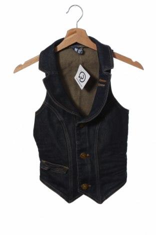 Dámská vesta  Bershka, Velikost S, Barva Modrá, 98% bavlna, 2% elastan, Cena  430,00Kč
