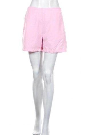 Γυναικείο κοντό παντελόνι Adidas, Μέγεθος L, Χρώμα Ρόζ , Πολυεστέρας, Τιμή 23,66€