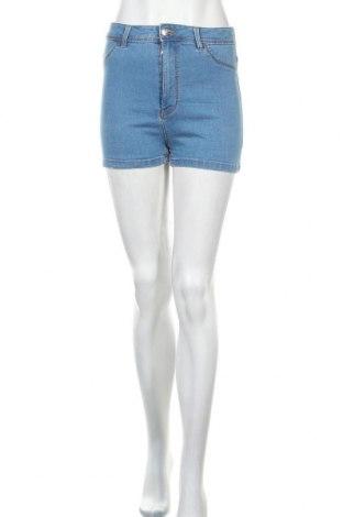 Дамски къс панталон Alcott, Размер M, Цвят Син, 70% памук, 26% полиестер, 4% еластан, Цена 20,80лв.