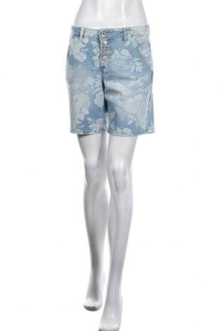 Дамски къс панталон Cream, Размер M, Цвят Син, Цена 28,12лв.