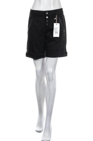 Дамски къс панталон Cream, Размер M, Цвят Черен, 98% памук, 2% еластан, Цена 30,02лв.
