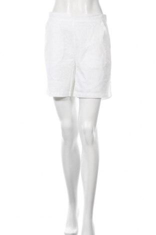 Дамски къс панталон Culture, Размер M, Цвят Бял, Памук, Цена 11,80лв.