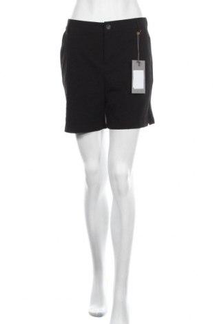 Дамски къс панталон Culture, Размер M, Цвят Черен, 72% полиестер, 24% вискоза, 4% еластан, Цена 44,25лв.