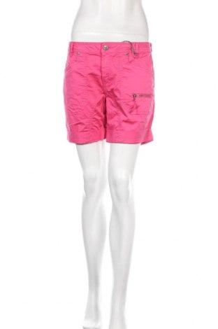 Дамски къс панталон Culture, Размер M, Цвят Розов, 98% памук, 2% еластан, Цена 44,25лв.