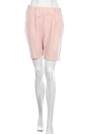 Дамски къс панталон Kaffe, Размер M, Цвят Розов, Памук, еластан, полиестер, вискоза, Цена 26,22лв.