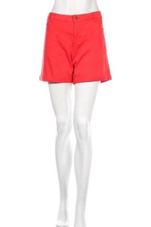 Дамски къс панталон Kaffe, Размер M, Цвят Червен, 98% памук, 2% еластан, Цена 26,22лв.
