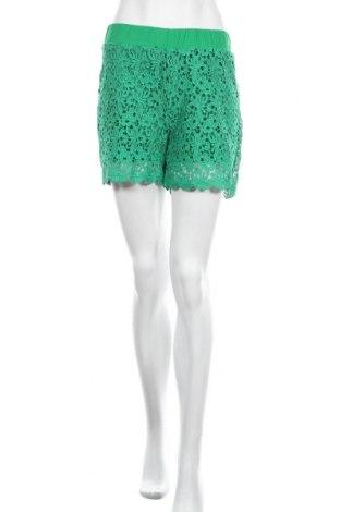 Дамски къс панталон Kaffe, Размер S, Цвят Зелен, Полиестер, Цена 26,22лв.