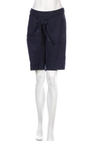 Дамски къс панталон Kaffe, Размер M, Цвят Син, Вискоза, Цена 26,22лв.