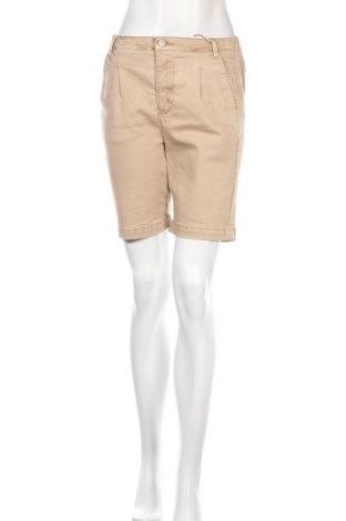Γυναικείο κοντό παντελόνι Lounge Nine, Μέγεθος M, Χρώμα  Μπέζ, 98% βαμβάκι, 2% ελαστάνη, Τιμή 11,97€