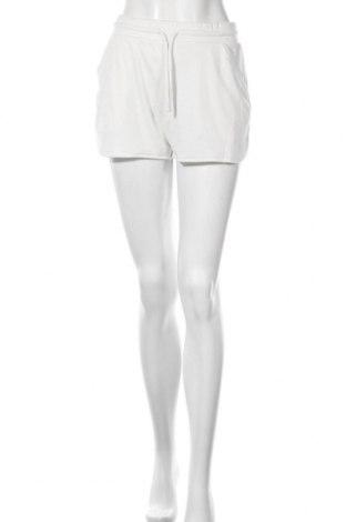 Дамски къс панталон Zara, Размер S, Цвят Бял, 68% полиестер, 32% вискоза, Цена 25,50лв.