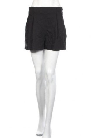 Damskie szorty Zara, Rozmiar M, Kolor Czarny, 48% poliester, 32% tencel, 16% bawełna, 4% elastyna, Cena 73,50zł