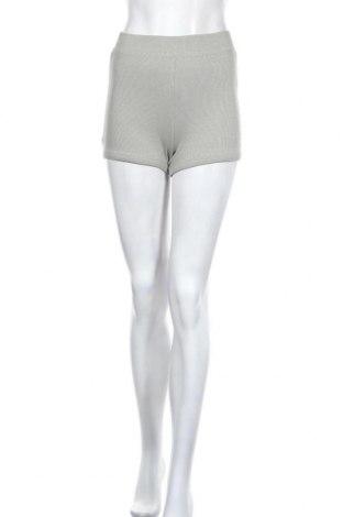 Дамски къс панталон Zara, Размер S, Цвят Зелен, 95% памук, 5% еластан, Цена 29,25лв.