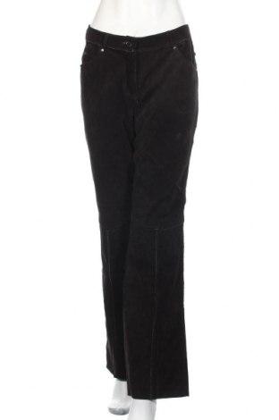 Γυναικείο παντελόνι δερμάτινο, Μέγεθος M, Χρώμα Καφέ, Γνήσιο δέρμα, Τιμή 32,73€