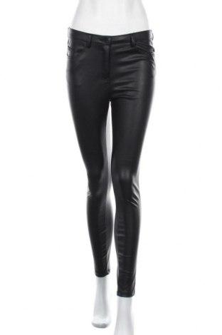 Pantaloni de piele pentru damă Denim&Co., Mărime M, Culoare Negru, Piele ecologică, Preț 96,16 Lei