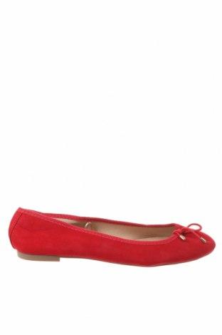 Încălțăminte de damă Lefties, Mărime 38, Culoare Roșu, Textil, Preț 31,78 Lei