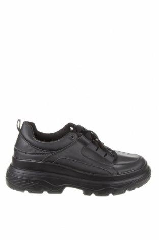 Γυναικεία παπούτσια Lefties, Μέγεθος 41, Χρώμα Μαύρο, Δερματίνη, Τιμή 30,41€