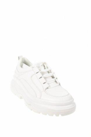 Γυναικεία παπούτσια Lefties, Μέγεθος 38, Χρώμα Λευκό, Δερματίνη, Τιμή 22,81€
