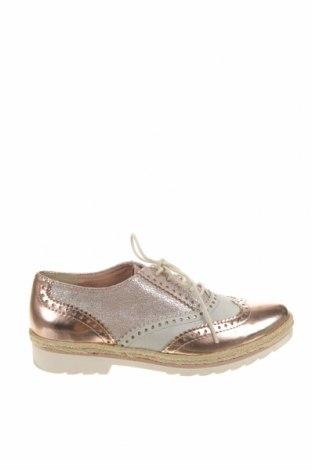 Дамски обувки Marco Tozzi, Размер 38, Цвят Розов, Еко кожа, текстил, Цена 36,75лв.