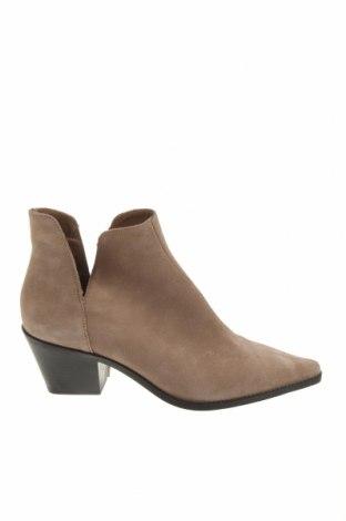 Dámské boty  Zara, Velikost 39, Barva Béžová, Přírodní velur , Cena  1511,00Kč
