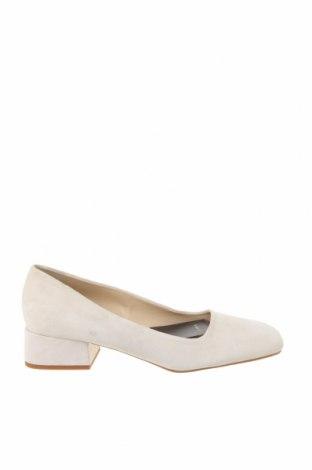 Γυναικεία παπούτσια Zara, Μέγεθος 39, Χρώμα  Μπέζ, Φυσικό σουέτ, Τιμή 17,43€