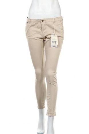 Дамски панталон Alcott, Размер L, Цвят Бежов, 98% памук, 2% еластан, Цена 27,60лв.