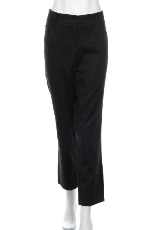Дамски панталон Atelier GARDEUR, Размер XL, Цвят Черен, 50% памук, 43% лиосел, 7% еластан, Цена 37,80лв.