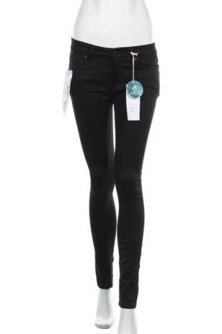 Pantaloni de femei C'est Toi, Mărime M, Culoare Negru, 69% bumbac, 30% poliester, 1% elastan, Preț 122,85 Lei