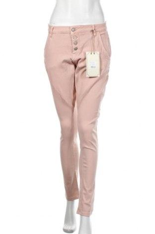 Pantaloni de femei Cream, Mărime L, Culoare Roz, 70% bumbac, 14% poliester, 14% viscoză, 2% elastan, Preț 424,34 Lei