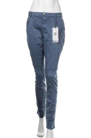 Дамски панталон Culture, Размер L, Цвят Син, 98% памук, 2% еластан, Цена 89,25лв.