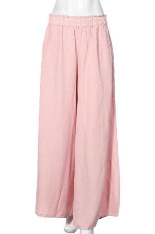 Дамски панталон Culture, Размер M, Цвят Розов, 55% вискоза, 45% лен, Цена 64,35лв.