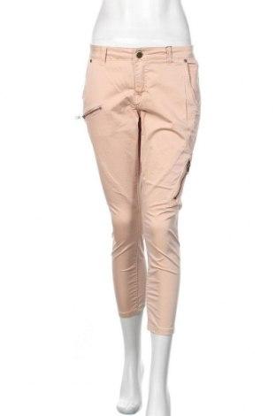 Дамски панталон Culture, Размер S, Цвят Розов, 99% памук, 1% еластан, Цена 89,25лв.