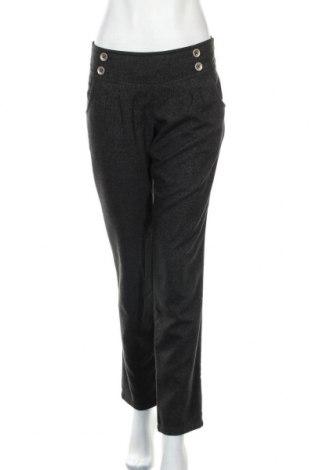 Γυναικείο παντελόνι De.corp By Esprit, Μέγεθος M, Χρώμα Γκρί, 65% πολυεστέρας, 32% βισκόζη, 3% ελαστάνη, Τιμή 4,77€
