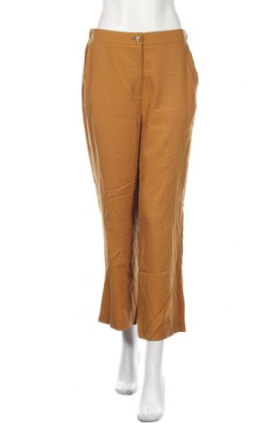 Дамски панталон Denim Hunter, Размер M, Цвят Кафяв, Цена 22,25лв.