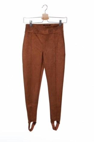 Dámské kalhoty  Desigual, Velikost S, Barva Hnědá, 95% polyester, 5% elastan, Cena  690,00Kč